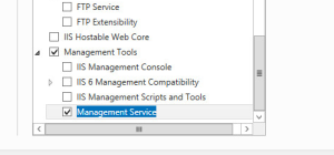 IIS 8 - Installing IIS 8 Role Management Tools
